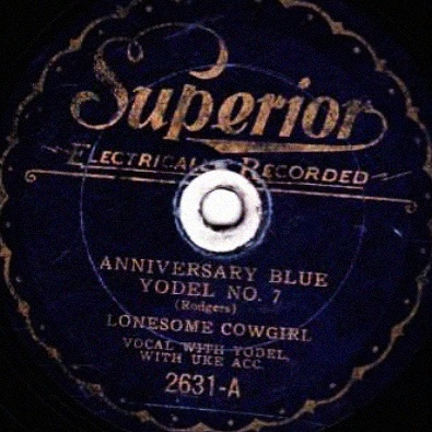 Anniversary Blue Yodel No. 7