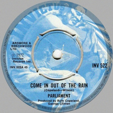 Come In Out Of The Rain
