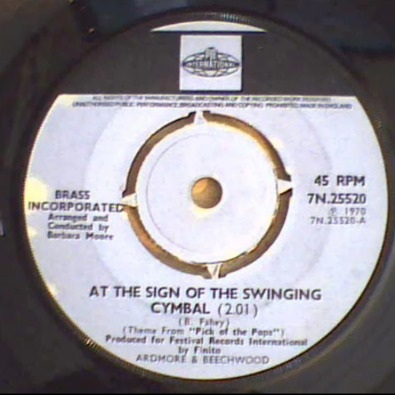 (At The Sign Of) The Swinging Cymbal