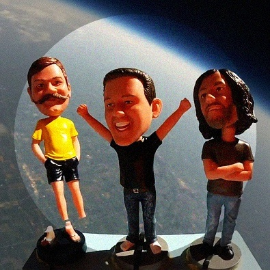 Bobbleheads in Space