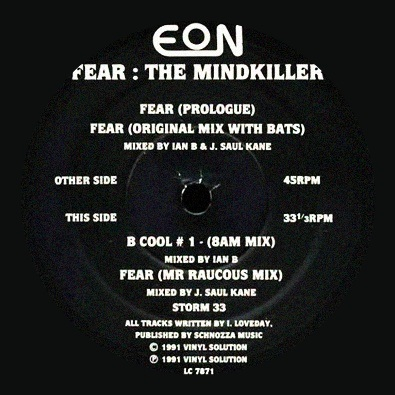 Fear: The Mindkiller