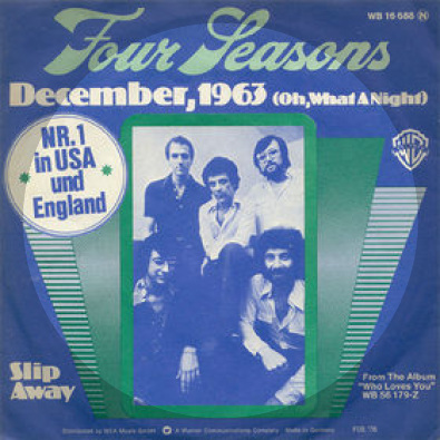 DECEMBER 1963 (Oh, What A Night)