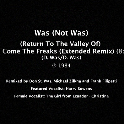 (Return To The Valley Of) Out Come The Freaks