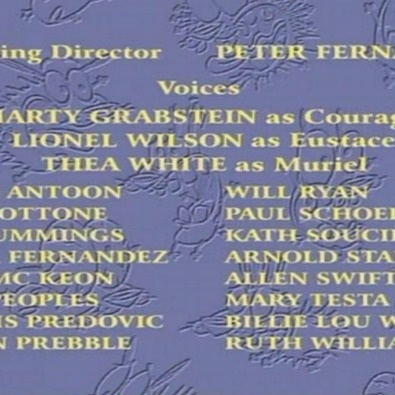 Courage the Cowardly Dog (Ending Credits)