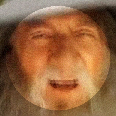 Gandalf bobbing his head to a 7-second clip of light jazz for 10 hours straight