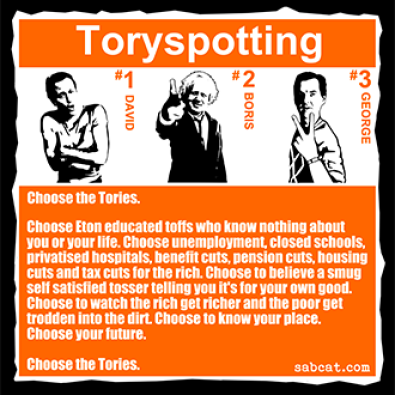 Fuck Everybody Who Voted Tory