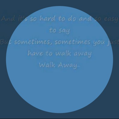 Walk Away With Lyrics