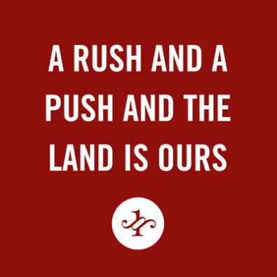A Rush and a Push and the Land Is Ours (The Smiths)