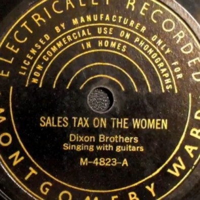 Sales Tax on the Women