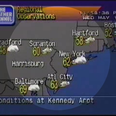 JFK 05/12/1999, Tide Locations Change