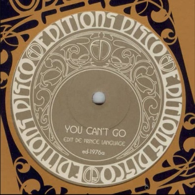 You Can't Go (Prince Language Edit)