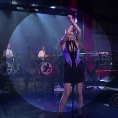 Dancing On My Own (live on Letterman)