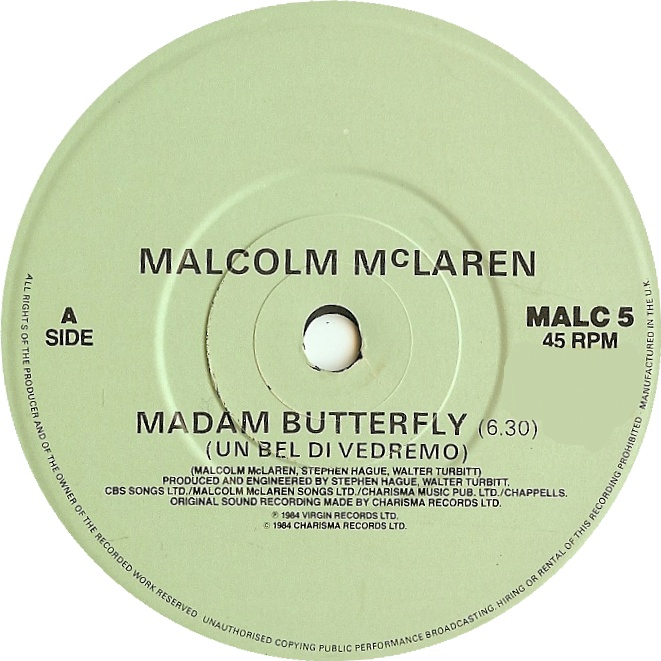 Madame erfly by Malcolm McLaren | This Is My Jam