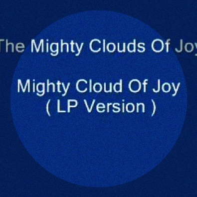 Mighty Cloud Of Joy