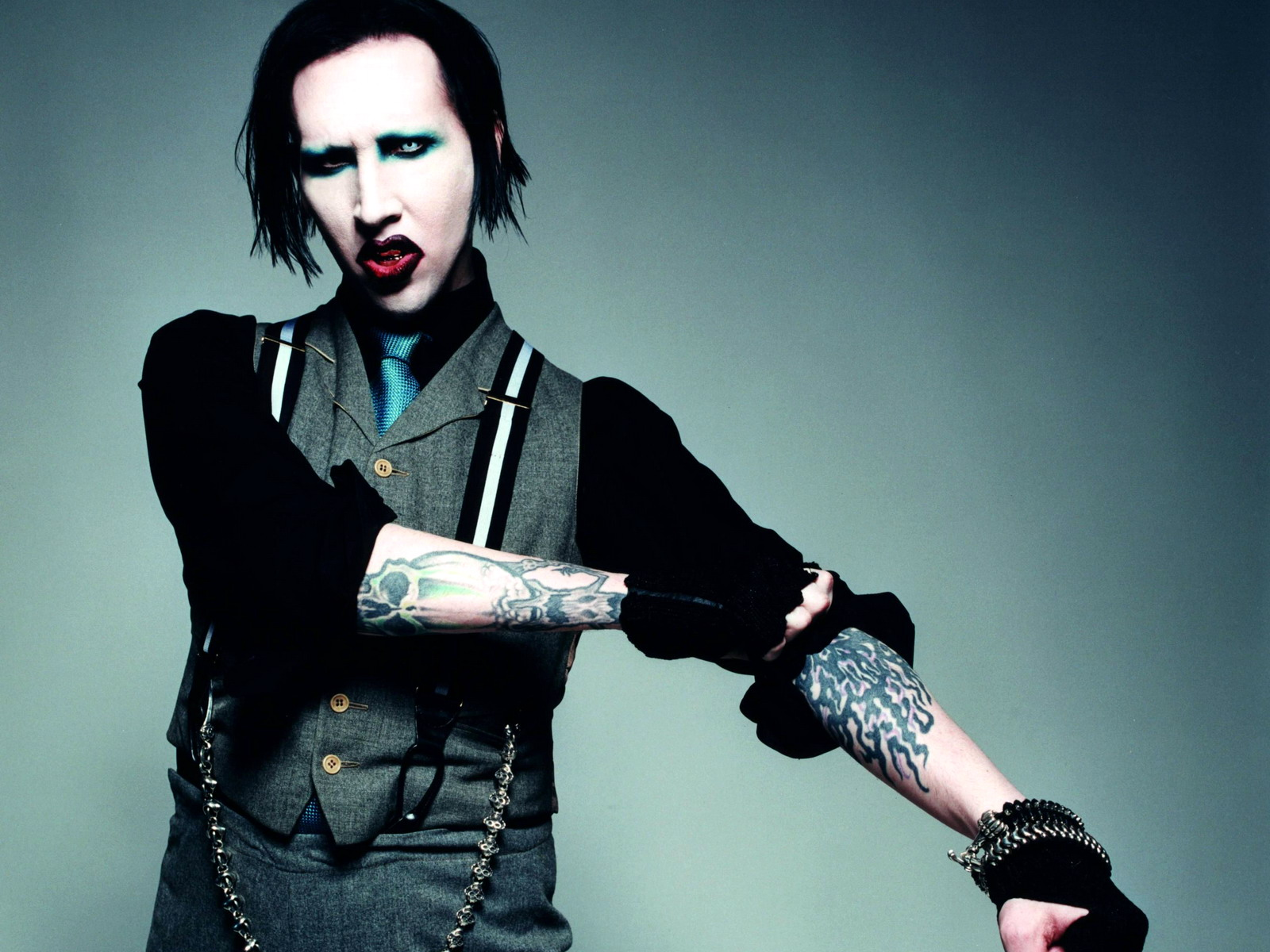 Use Your Fist And Not Your Mouth by Marilyn Manson