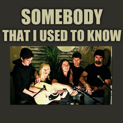 Somebody That I Used To Know (Gotye Cover)