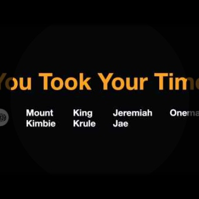 You Took Your Time  (Oneman Remix)