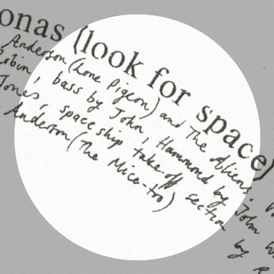 Ionas (Look for Space)