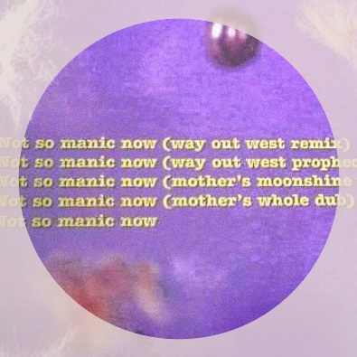 Not So Manic Now (Way Out West Remix)