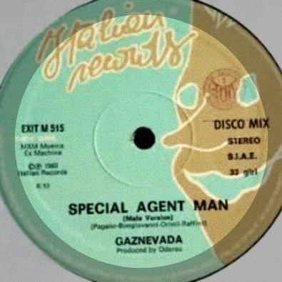 Special Agent Man (Female Version)