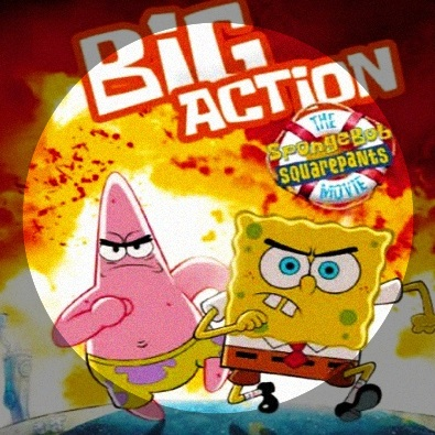SpongeBob And Patrick Confront The Psychic Wall Of Energy