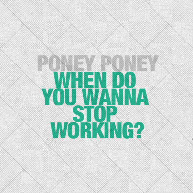When Do You Wanna Stop Working?  (Pacific Remix)