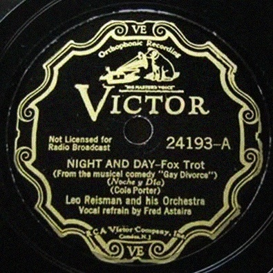 Night And Day - The Gay Divorce 1932