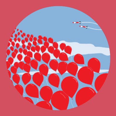 99 Red Balloons By Goldfinger