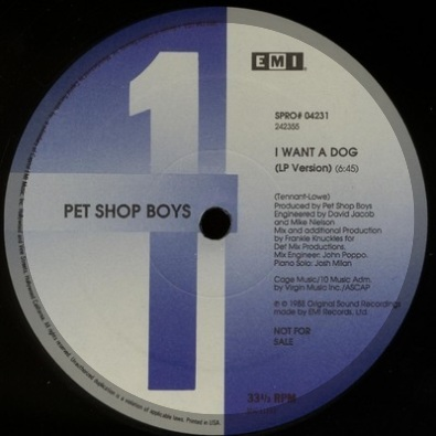 I Want A Dog (Frankie Knuckles Mix)