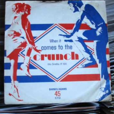 When It Comes To The Crunch (It's Smiths IT IS!)