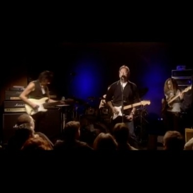 Jeff Back with Eric Clapton - Live -