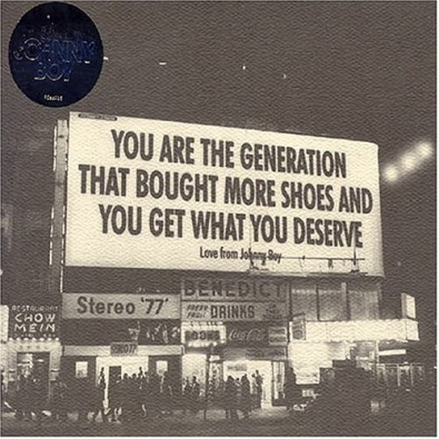 You Are The Generation That Bought More Shoes and You Get What You Deserve