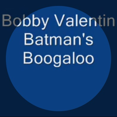 Batman's Boogaloo