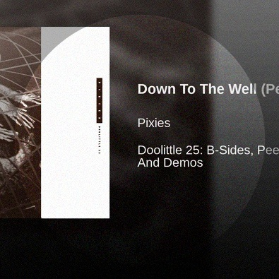 Down to the Well (Peel Session)