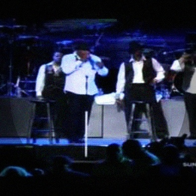 New Edition at Essence Music Festival 2011