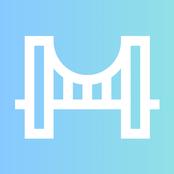 ThisFrisco Twitter Avatar, a stylized bridge