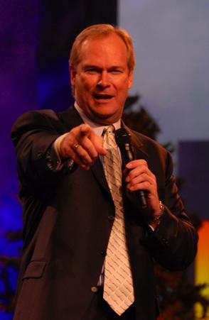 Famous motivational speaker Dan Clark.
