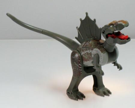 Lego studios 1371 jurassic park spinosaurus minifigs - Lego spinosaurus ...