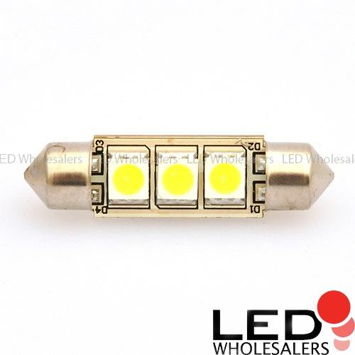 37mm high power led interior festoon dome light replacement car bulb 12 volt dc. Black Bedroom Furniture Sets. Home Design Ideas