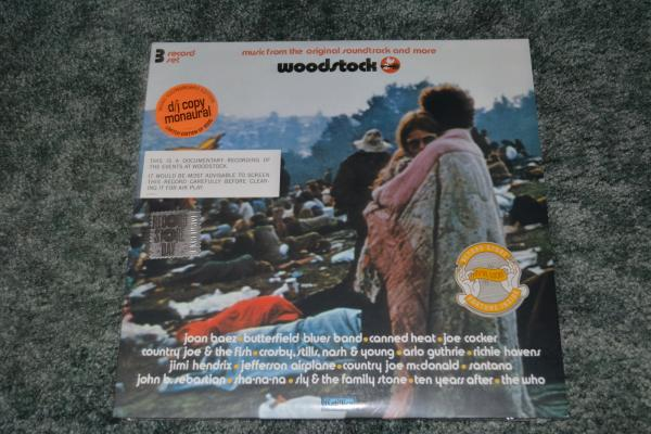 Details about Woodstock Soundtrack Mono PA Soundboard OST 3XLP Vinyl RSD  2019 Record Store Day