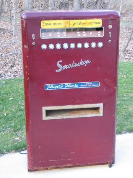 ebay cigarette vending machine