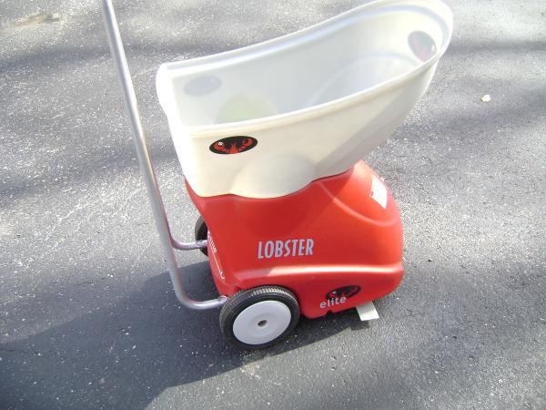 Lobster Elite Model Ii Tennis Ball Machine Trainer Plus