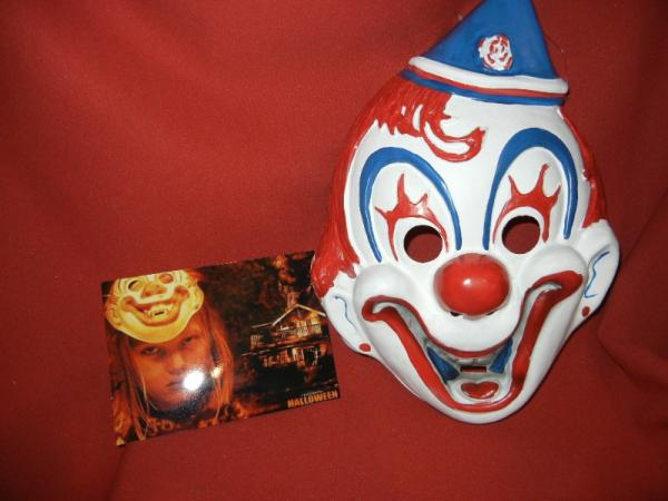 Halloween Clown Mask Michael Myers.Details About Michael Myers Clown Halloween Mask And Photo Horror Display Prop Rob Zombie