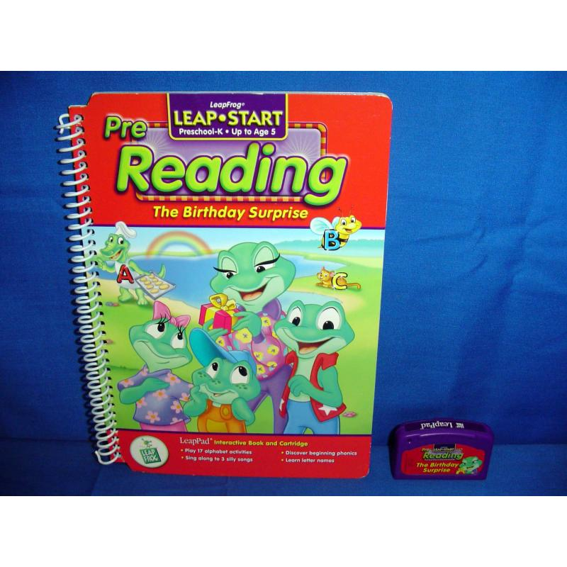 Leap Frog Pad THE BIRTHDAY SURPRISE Book Game Cartridge