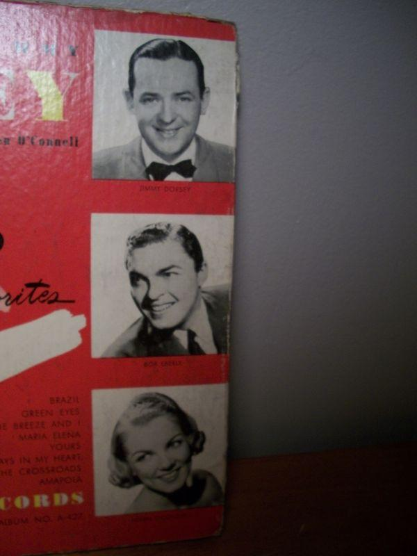 Jimmy Dorsey Latin American Favorites Decca Album Only