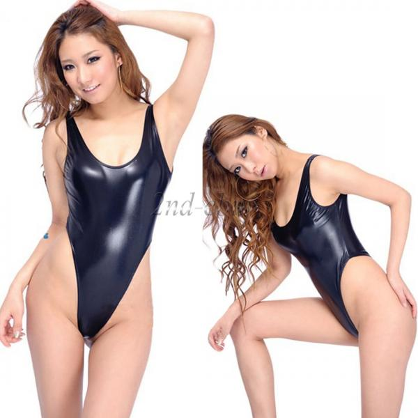 WOMEN'S SEXY THONG LEOTARD YOGA BODYSUIT DANCE SUIT ONE ...