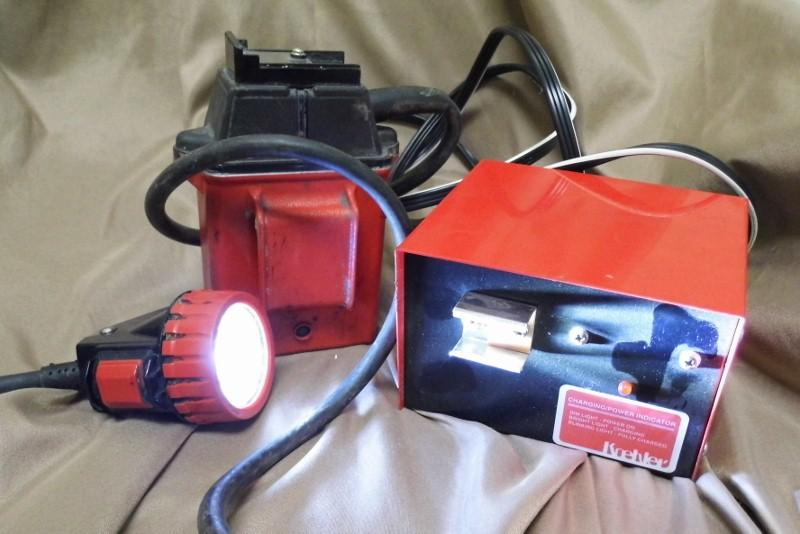 Koehler Wheat Coal Minning Battery Light With Charger Msha