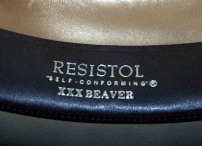 cb1ea3d5ad9 Resistol Silver Belly 3X Beaver Cowboy Western Hat 7 1 8 Super Nice ...