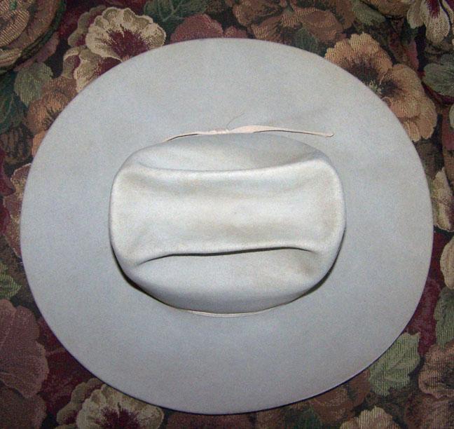 d05a4546eba Resistol Silver Belly 3X Beaver Cowboy Western Hat 7 1 8 Super Nice