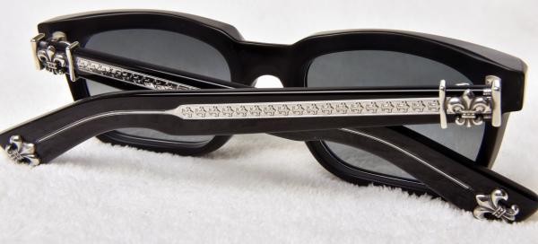 095d80352b6 NEW Chrome Hearts See You in Tea Sunglasses Matte Black Dark Gray ...
